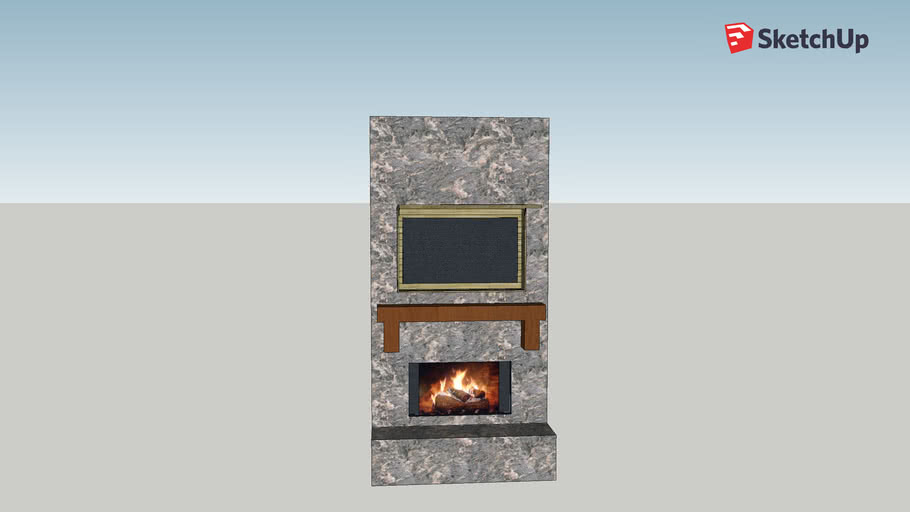 Jordan's TV cabinet