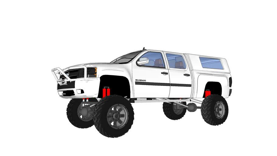 Chevrolet silverado Z71 lifted