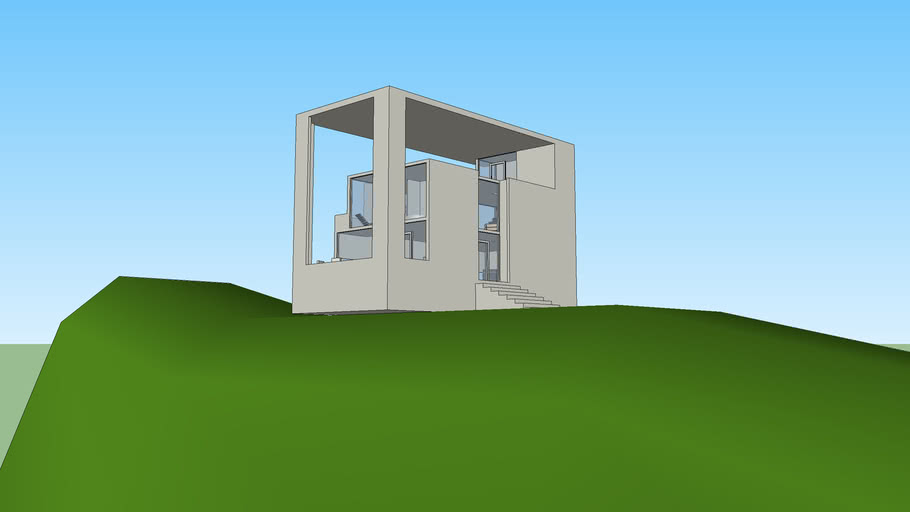 Mario Botta styled house