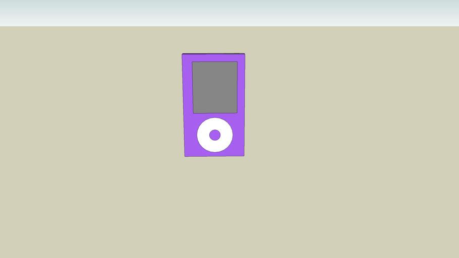 Purple I-pod