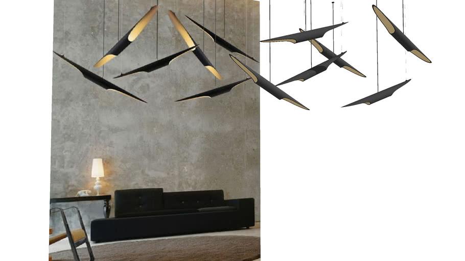 coltraine ceiling lamp