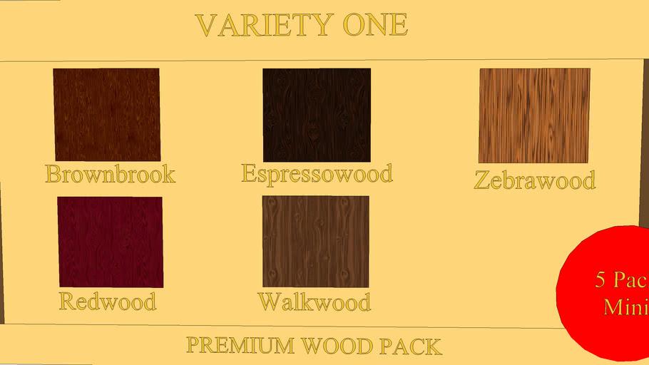 Mini Wood Pack: Variety One