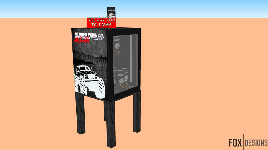 KPC Energy Drink Stand