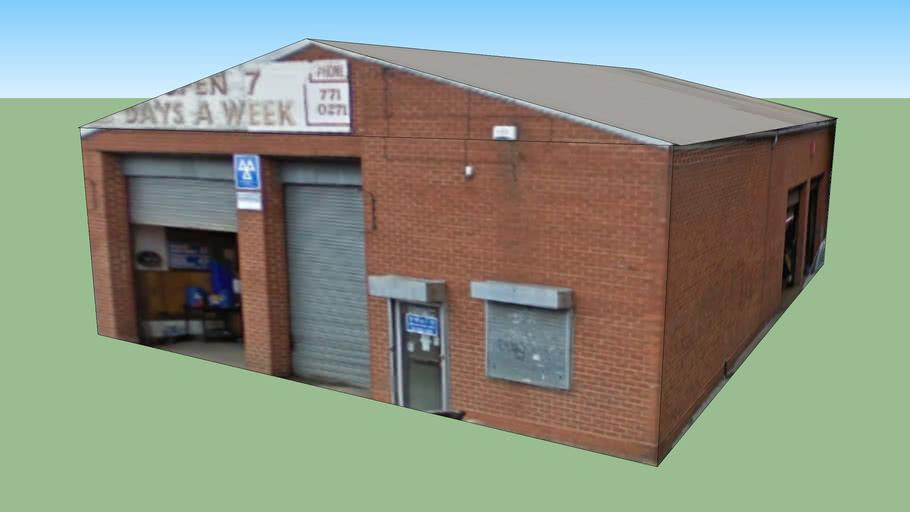 Garage in Birmingham, West Midlands B11 1RX, UK