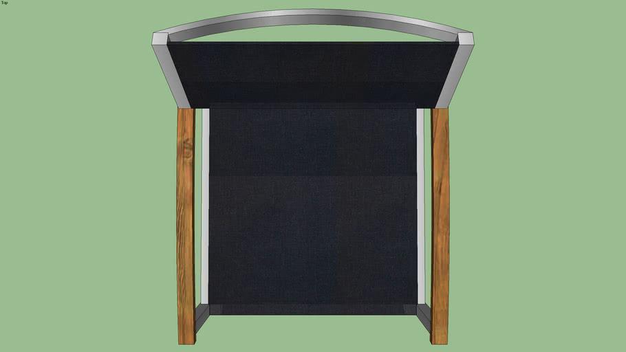 Zix Stackable Chair Black