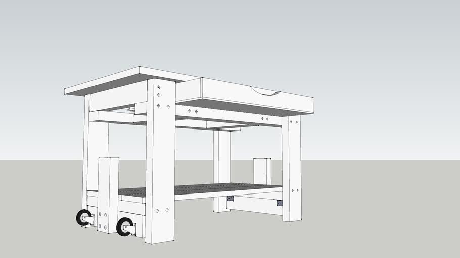 Simple Rolling Workbench