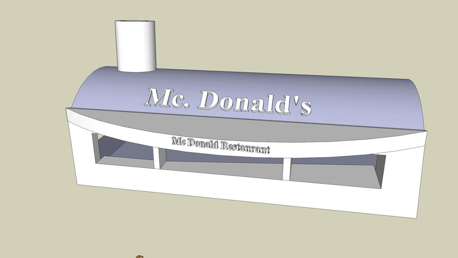 Mc Donald Restaurant