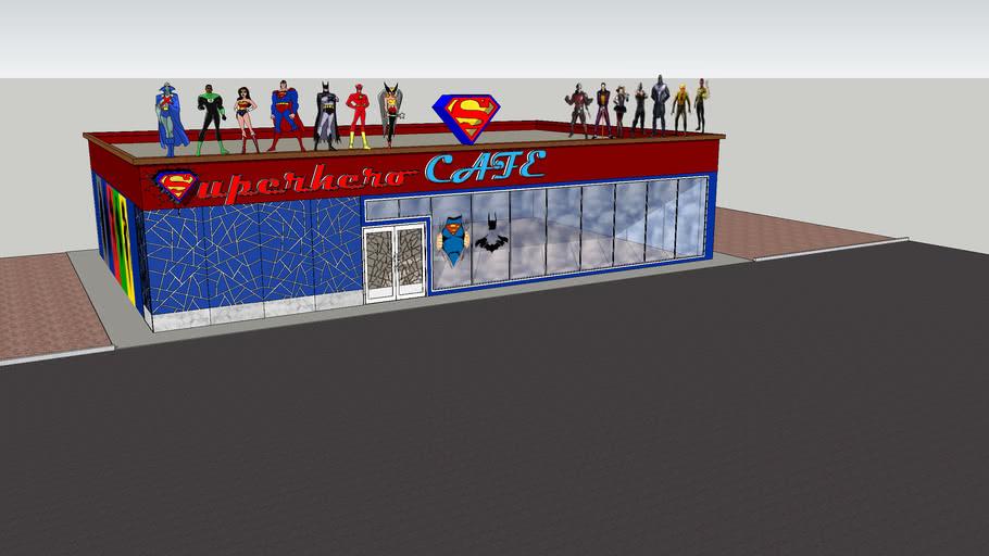 SUPERHERO CAFE DC COMICS