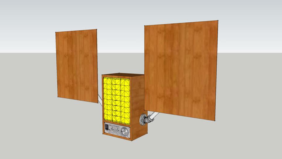 Speaker Box Mock up