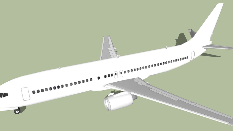Template - Boeing 737-400