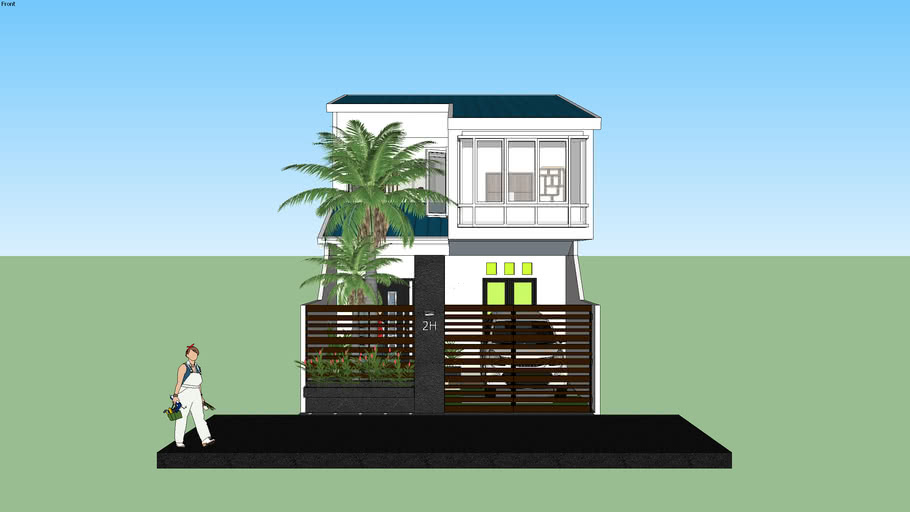 Kemboja Minimalist Home