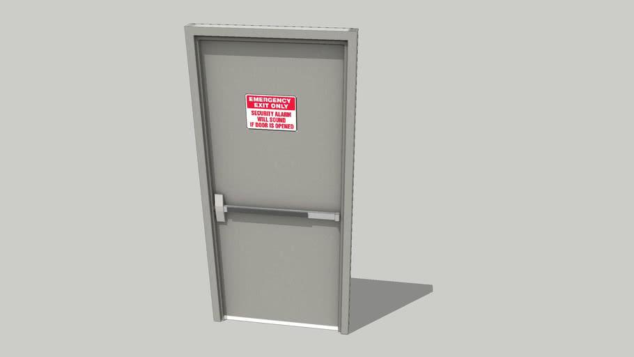 Lo-poly Emergency Exit