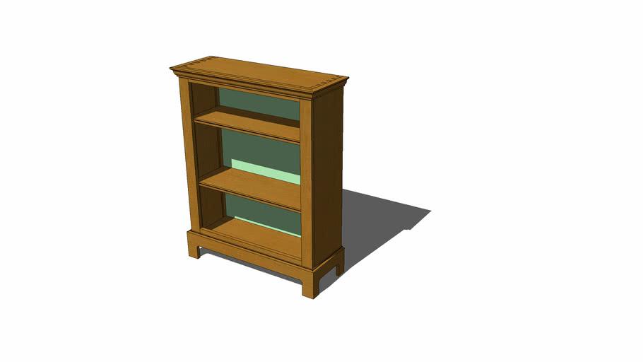 Narrow office bookcase