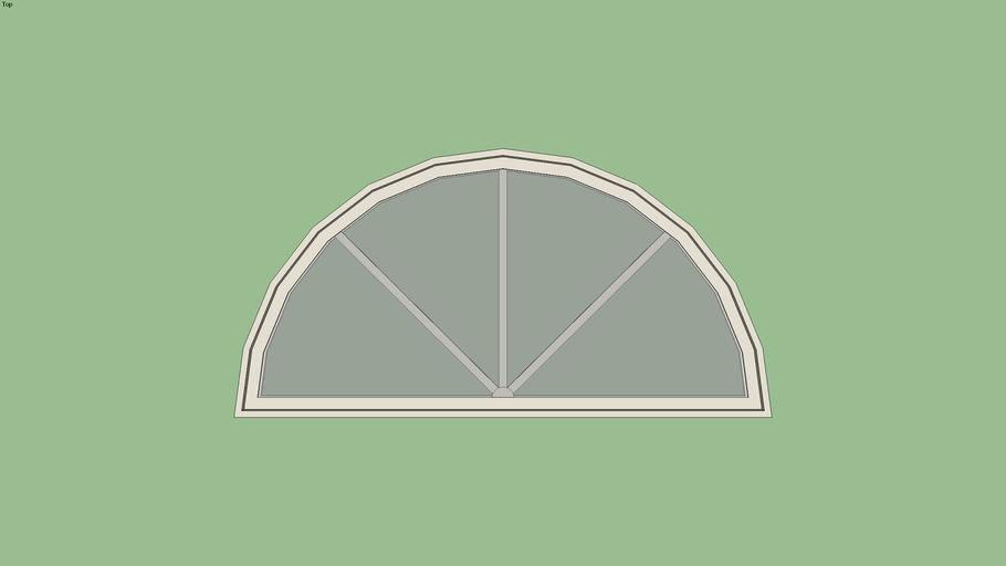 Marvin Essential Direct Glaze Half Circle Window