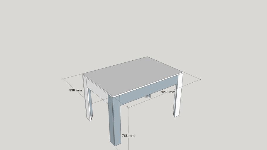 Europaletten-Tisch