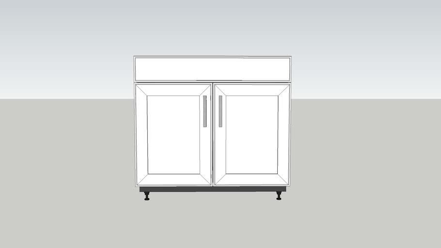 Sink Base - FF & 2 Door