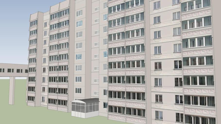 Общежитие (из комплекса зданий Центра Одаренных Детей)