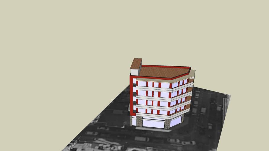 Edifici en Crta Santa Eulalia, 69, l'Hospitalet del Llobregat