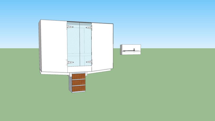 CNC Mill Enclosure -work in progress