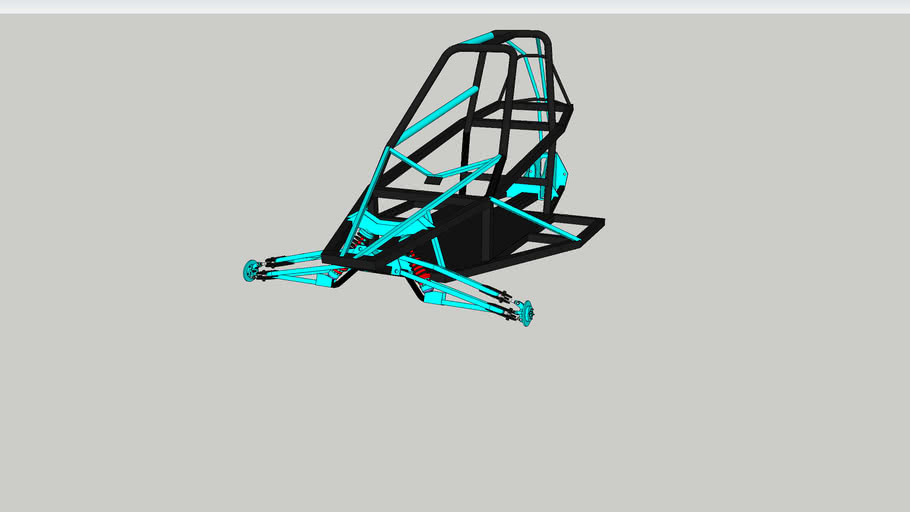Kart cross barracuda