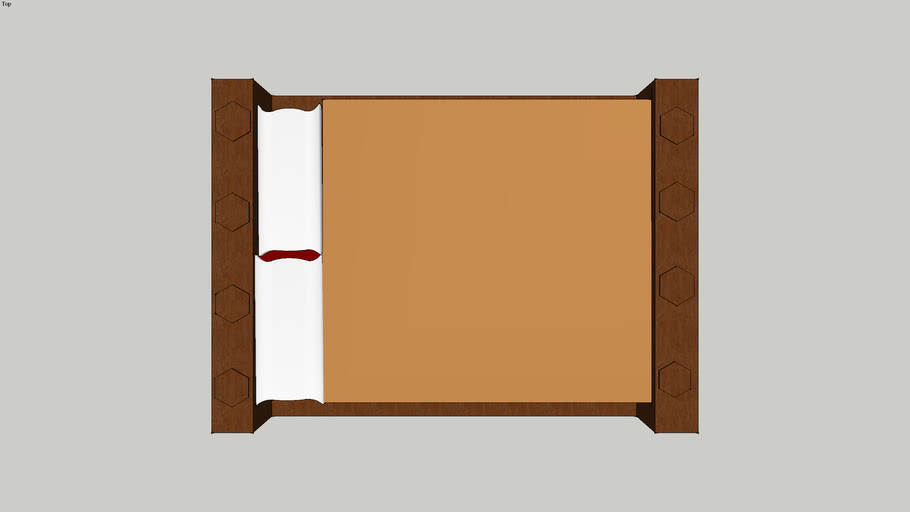 Octagon Platform Bed