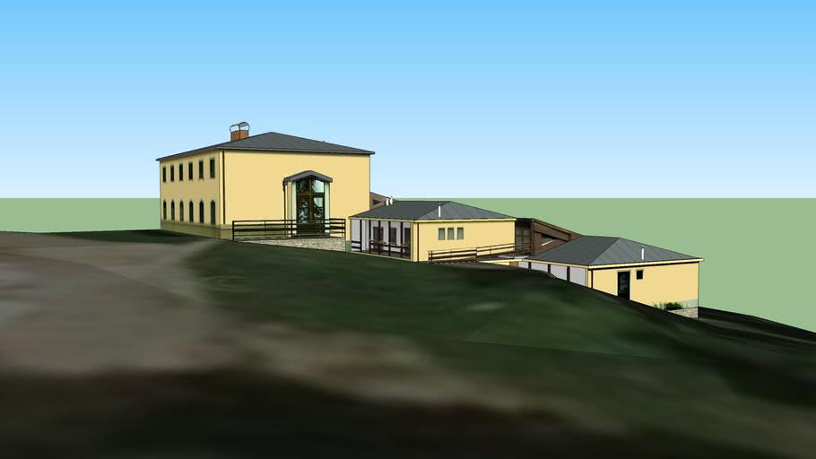 Pútnický Dom na Mariánskej hore v Levoči