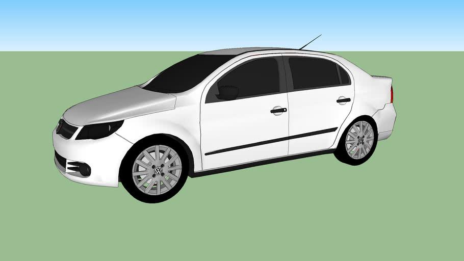 Carro - VW - Voyage Branco