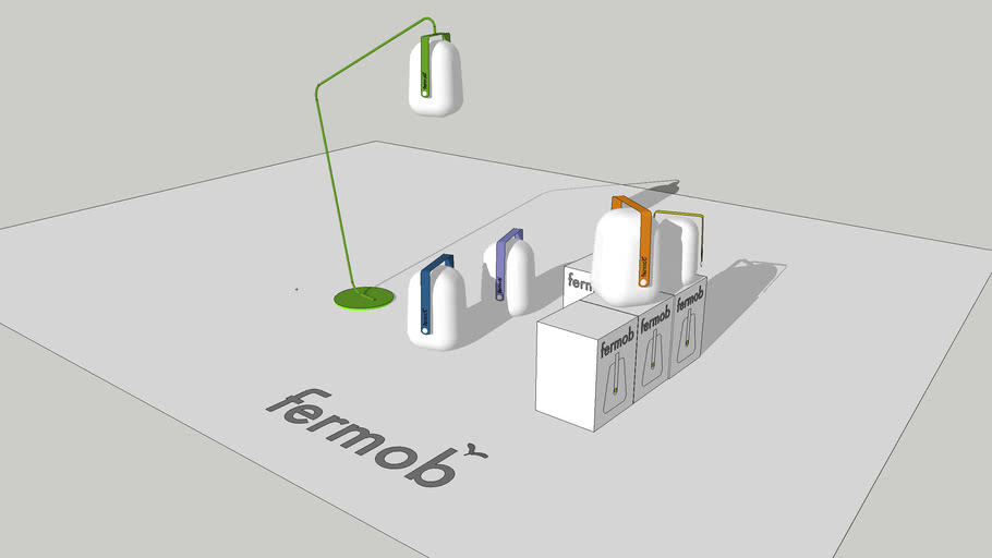 série lampe fermob-balade