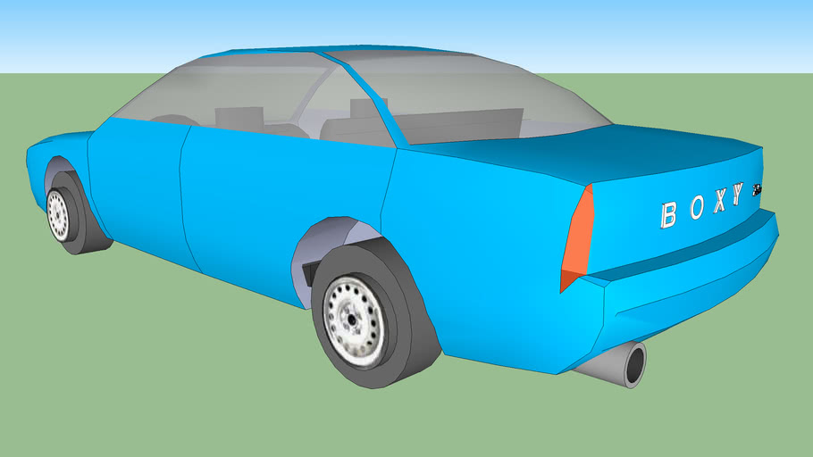 Boxy Sedan 2.6