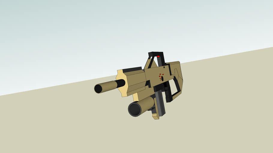 Desert Warfare Combat Shotgun Concept
