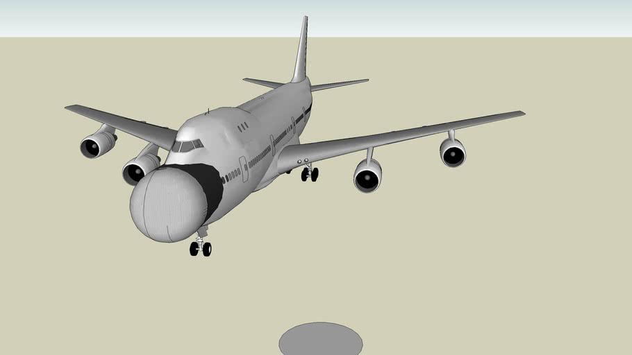 Boeing 747 Laser (Unfinished)