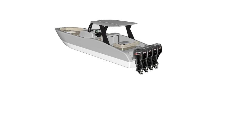 MTI center console boat