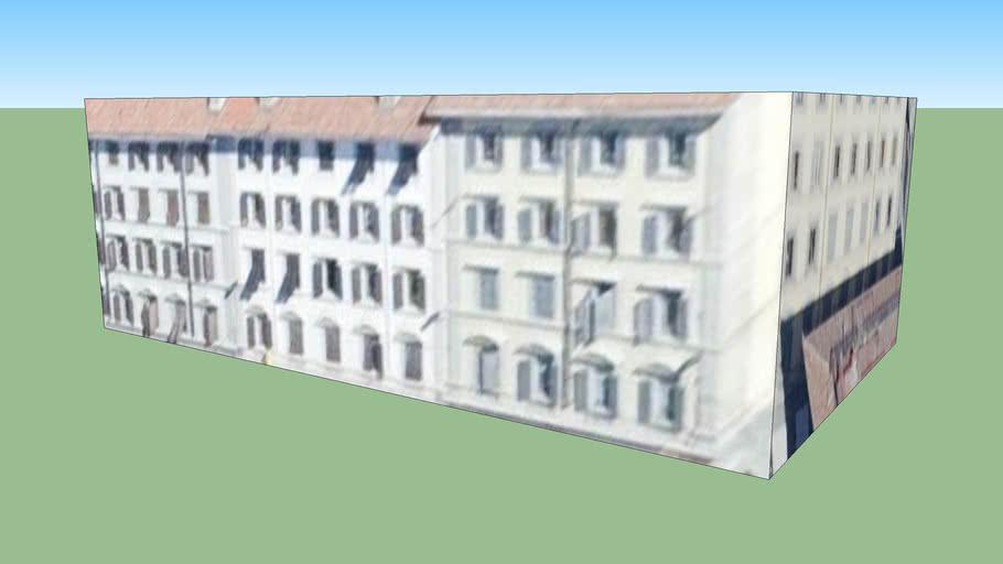 Gebäude in Florenz, Italien