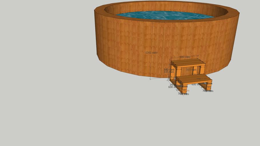 Spa - Hot tub steps