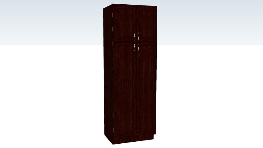 Utility Cabinet Double Door 24D