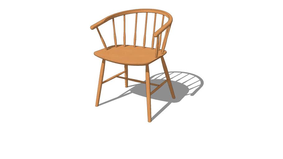 J64 chair by Ejvind Johansson