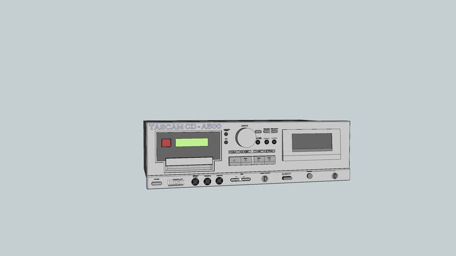 CD-TAPE Player