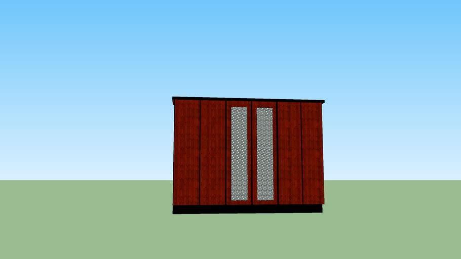 Six door wardrobe