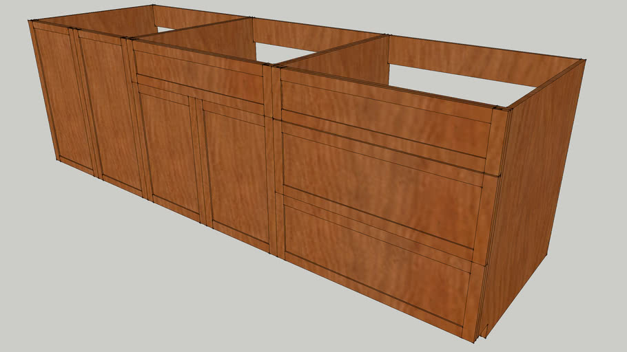 Kitchen or shop Cabinets