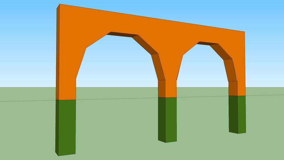 Arco poligonal o Afacetado