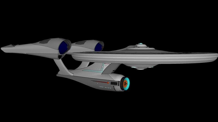Star Trek Enterprise 2009 Revision - Second try