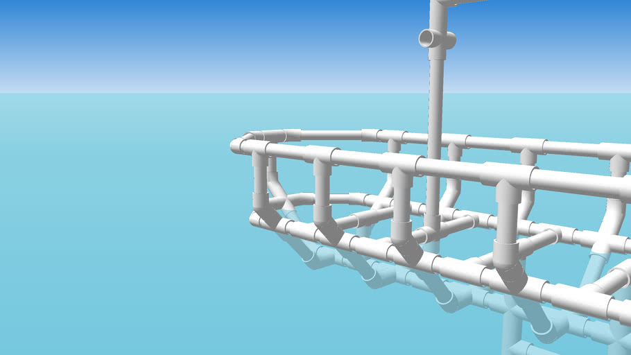 PVC Sailboat