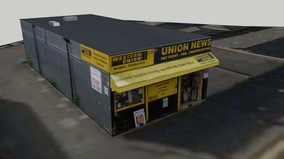 Union News, St Thomas Street, Newcastle Upon Tyne, UK