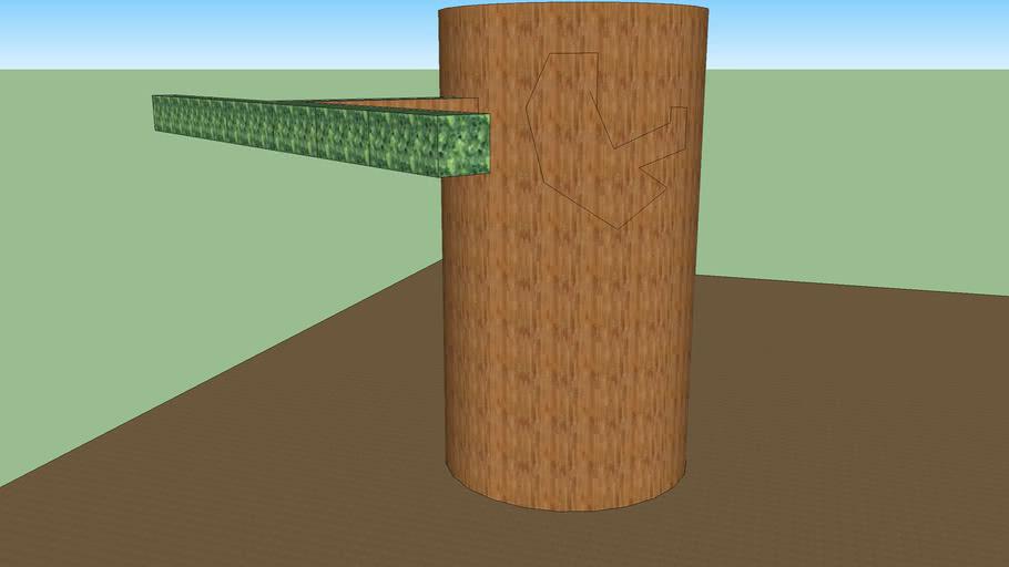 tree and tree house