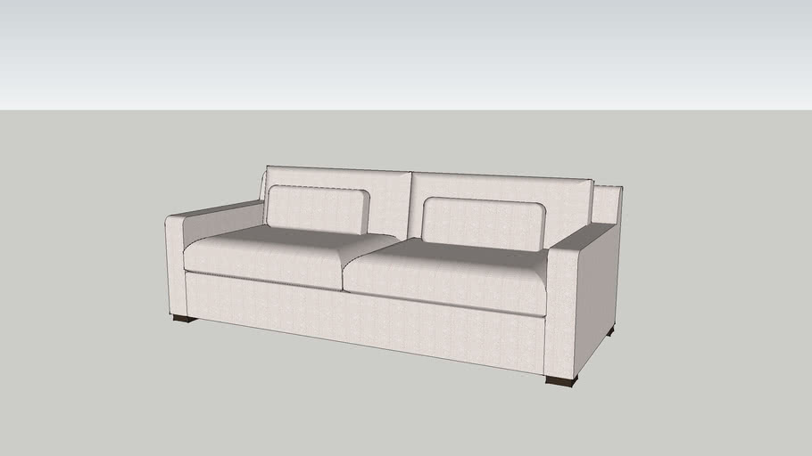 "CI - Patton Sofa 84"" Natural"