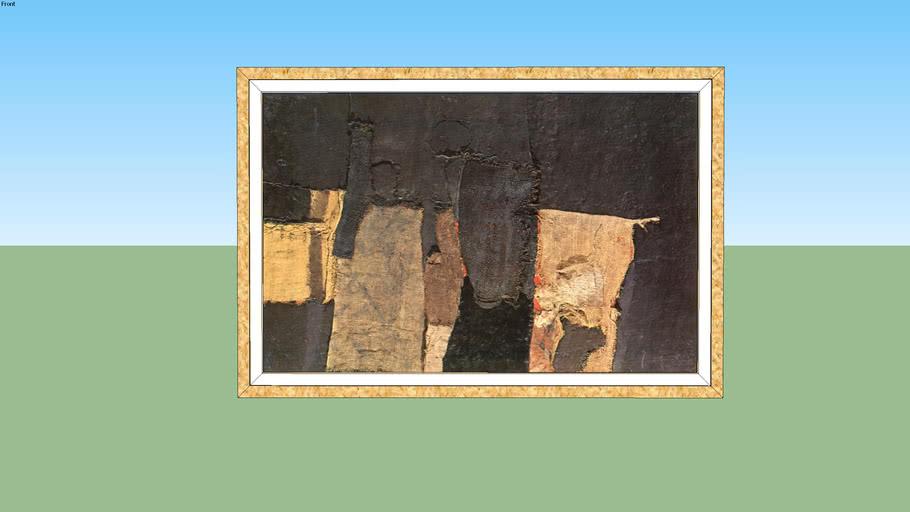 A. Burri -sacco e nero -1955