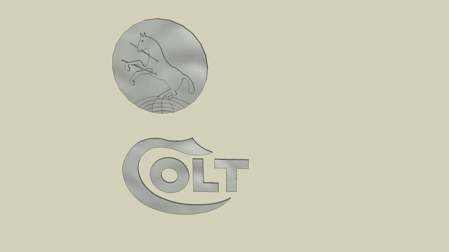 Colt Patent Firearms Logo 3d Warehouse