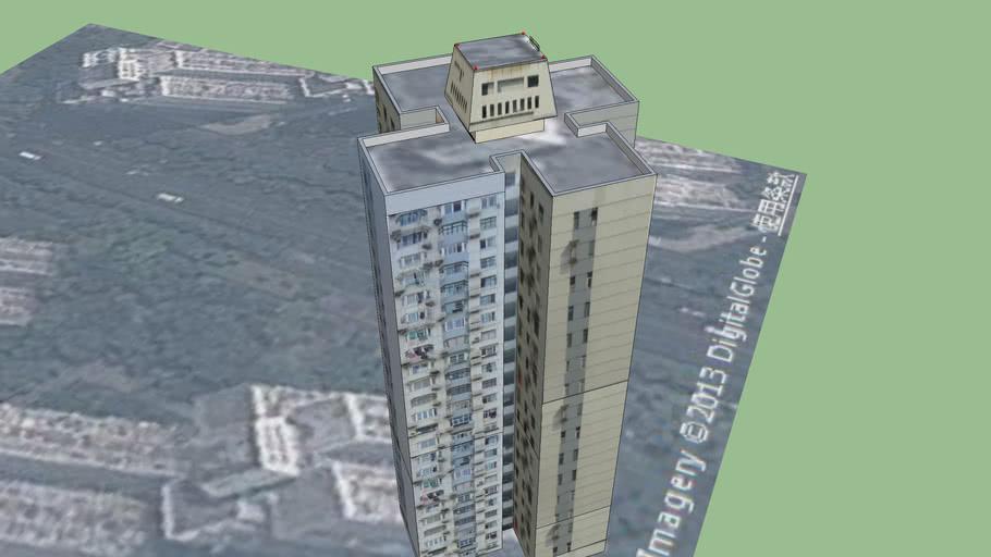 曲阳新村东五小区/高层居民住宅3High-rise residential buildings③  =CHN=