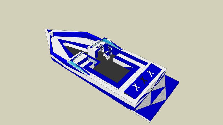 T.S. pro ski boat