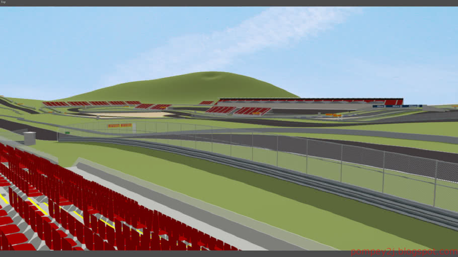 Thailand International Raceway - F1 circuit
